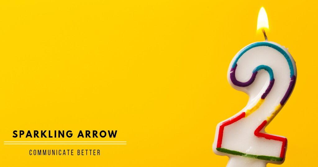 Jippiejajee, Sparkling Arrow wordt twee!